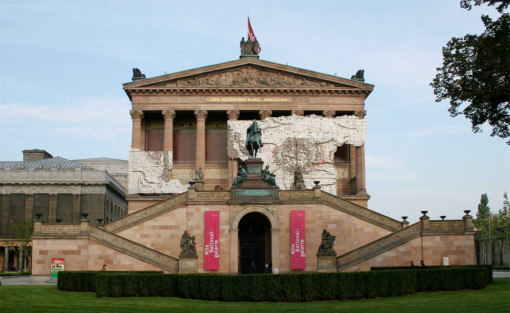 "Alte Nationalgalerie, ""Who Knows Tomorrow"", Berlin"