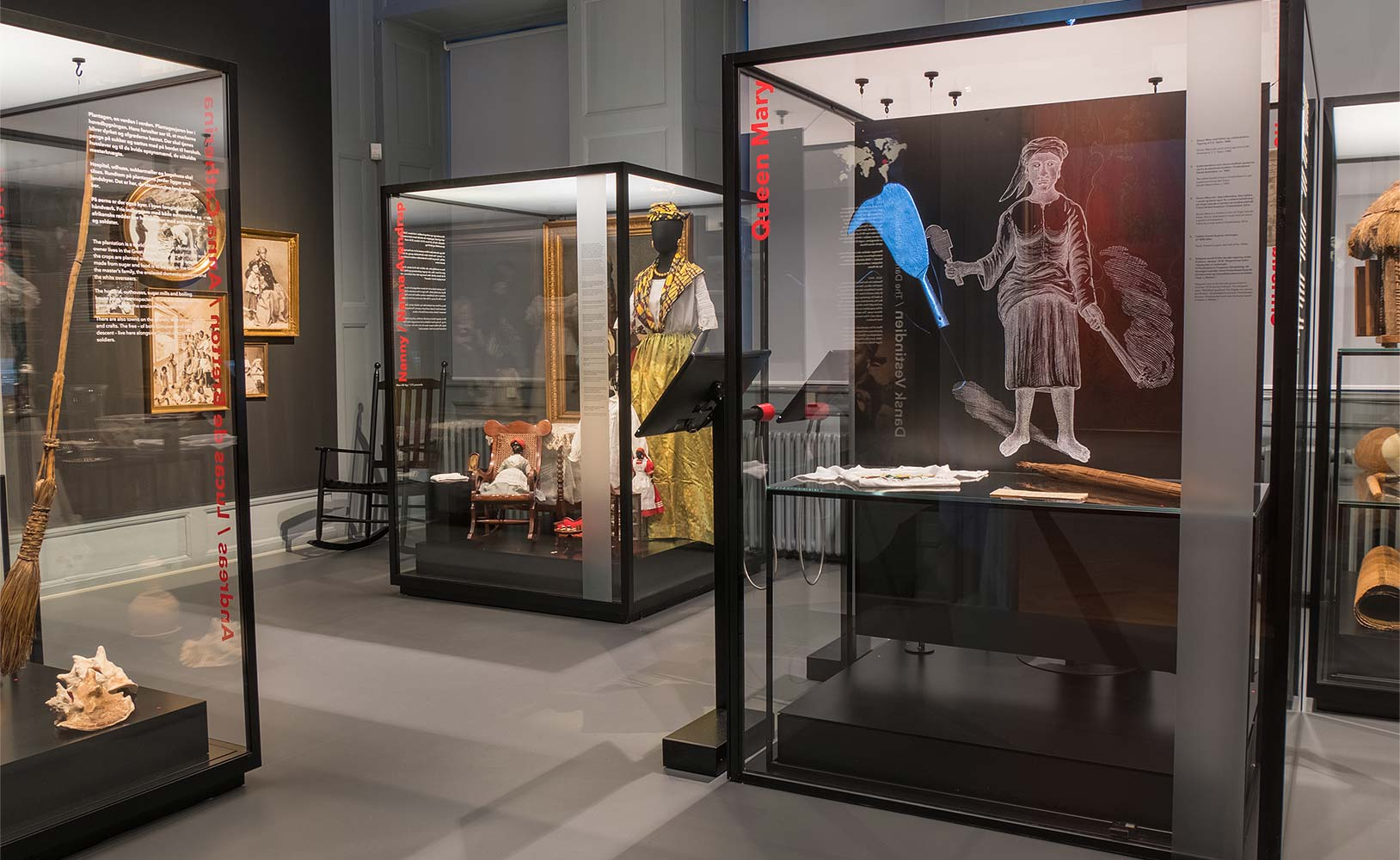"National Museum of Denmark, ""Voices from the Colonies"", Copenhagen"