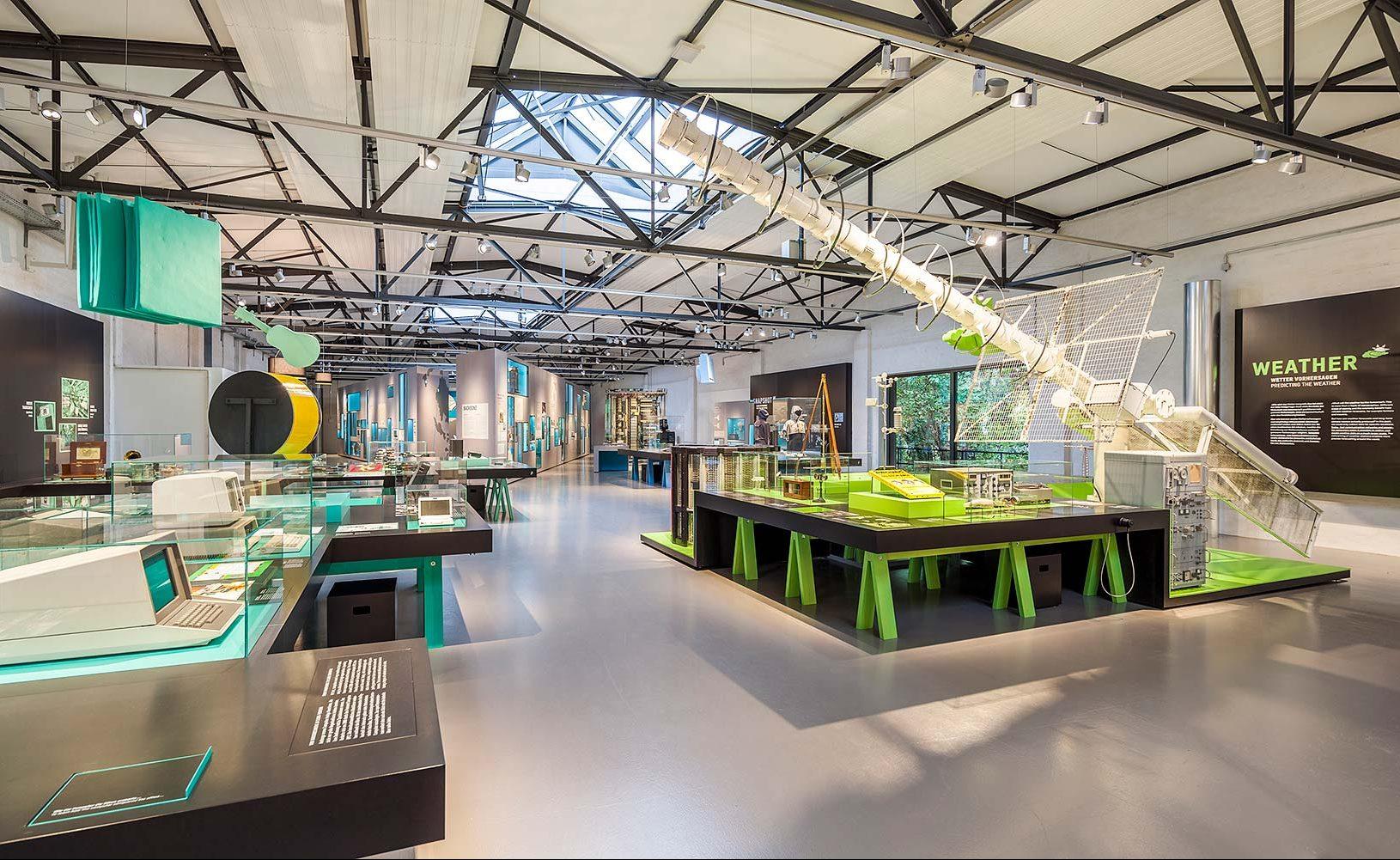 """Deutsches Technikmuseum, """"Das Netz"""", Berlin"""