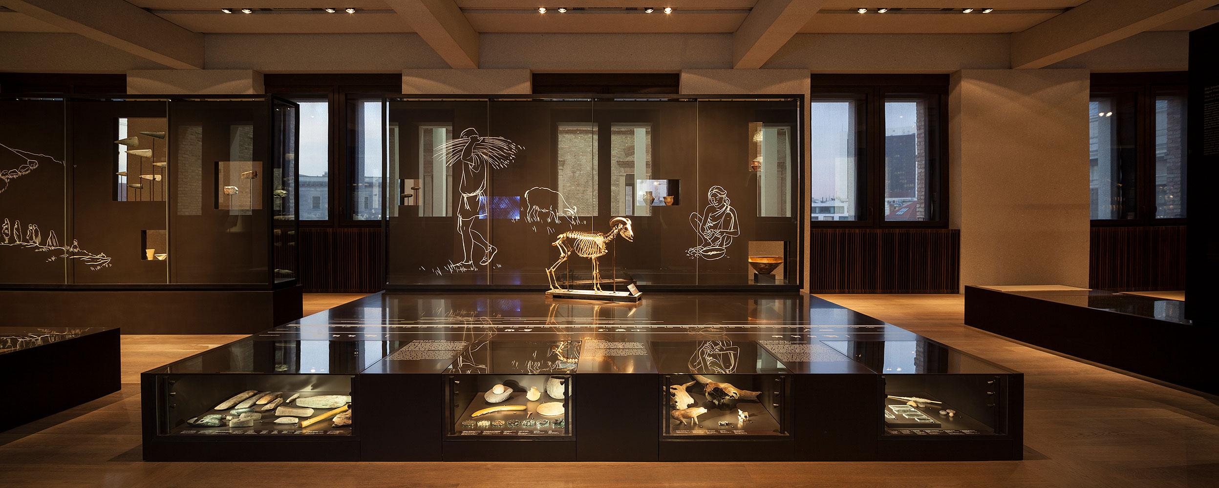 Neues Museum, Museum für Vor- und Frühgeschichte, Berlin